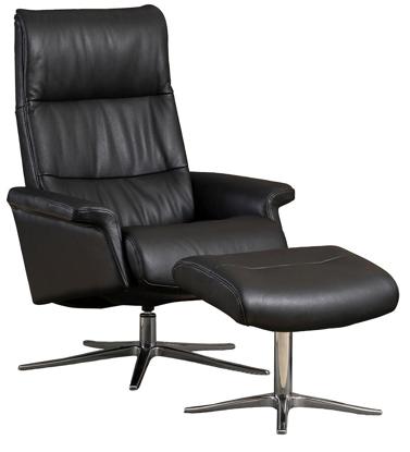 Billede af Space Relaxing 24.24 lænestol og fodskammel