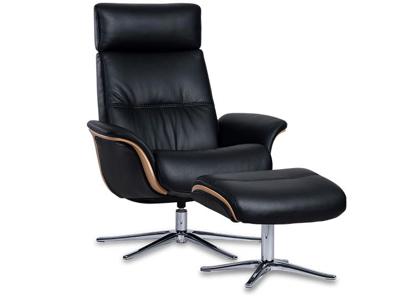 Billede af Space 5100 lænestol med fodskammel