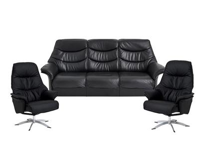 Billede af Asti 3 pers. sofa og 2 lænestole Soleda/skal