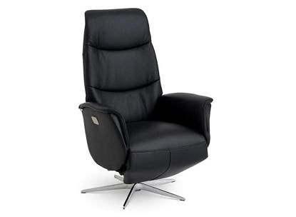 Billede af Global Comfort Portland 5077 lænestol med indbygget fodskammel