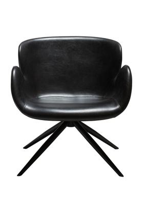Billede af Dan-Form loungestol i pu læder