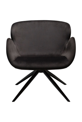 Billede af Dan-Form loungestol i velour stof