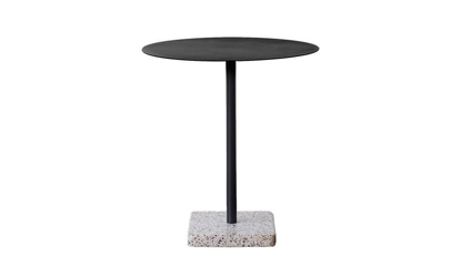 Billede af Terrazzo Table Round 70cm Grey base