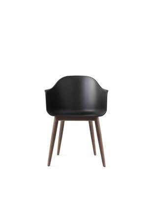 Billede af Harbour Chair, Black/Dark Oak Base