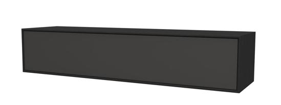 Billede af City medie modul 1 stofklap, finér - B 33 cm