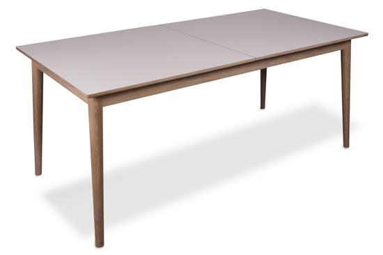 Billede af Sesame Spisebord inkl. Indbygget tillægsplade til 275 cm, nano laminat