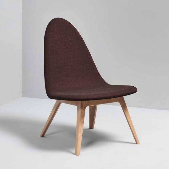 Billede af Nordic Lounge Stol - Eg