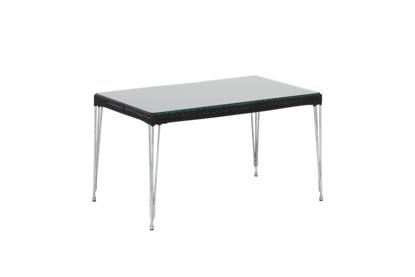 Billede af Mercur sofabord med glas top