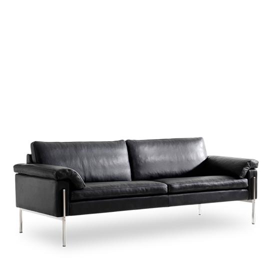 Billede af Skipper Capri 3 pers sofa læder arm A