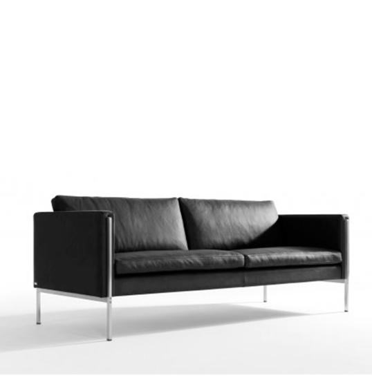 Billede af Skipper Capri 3 pers sofa læder arm B