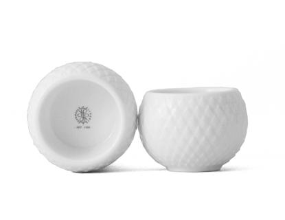 Billede af Rhombe Tealight Holders, white (2 pcs.)