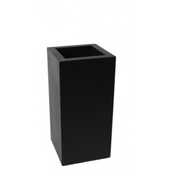 Billede af Vase rektangulær 11x11x23cm