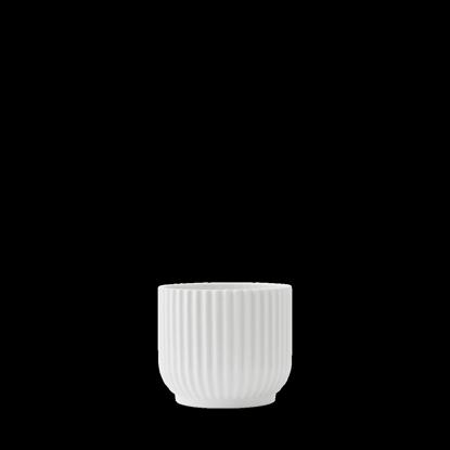 Billede af Flower pot small, white