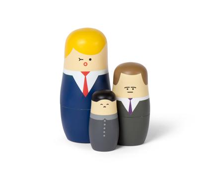 Billede af Expressions: Big Bosses Nesting Dolls