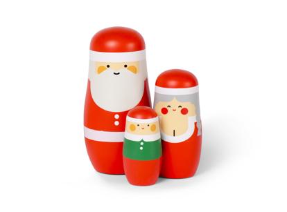 Billede af Expressions: Christmas Nesting Dolls