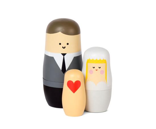 Billede af Expressions: Wedding Nesting Dolls