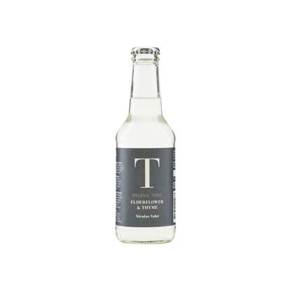 Billede af Økologisk Tonic Vand med hyldeblomst og timian, 25 cl
