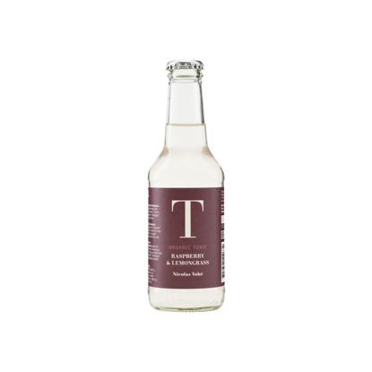 Billede af Økologisk Tonic Vand med hindbær og citrongræs, 25 cl
