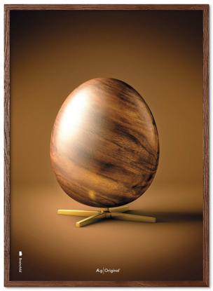 Billede af Brainchild Ægget figur plakat, A5