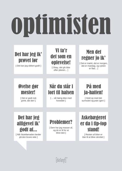Billede af Optimisten, Kort