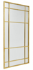 Billede af Spirit spejl med jernramme, 204x102 cm