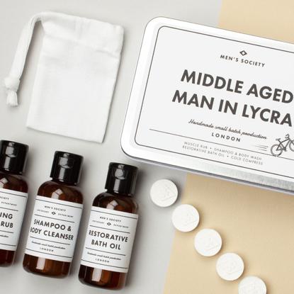 Billede af Men's Society Middle Aged Man in Lycra