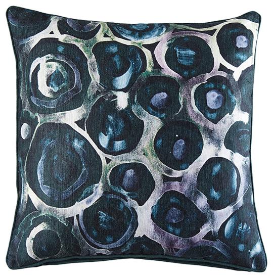 Billede af Cirkle Velvet Pude, 50x50 cm