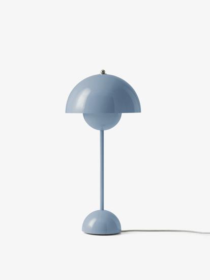 Billede af Flowerpot Table Lamp - VP3 - Light Blue