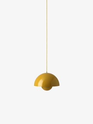 Billede af Flowerpot Pendant - VP7 - Mustard