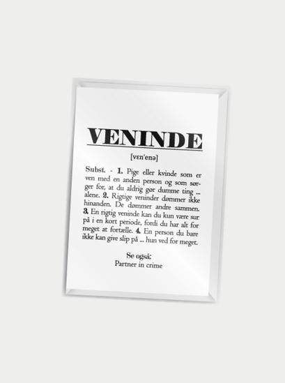Billede af Veninde (definition), A7