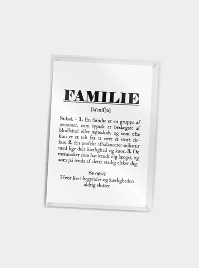 Billede af Familie (definition), A7
