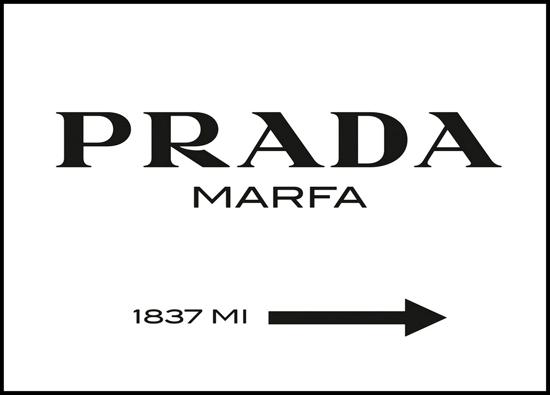 Billede af Prada, 40x30