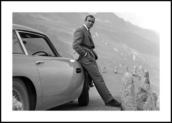 Billede af Sean Connery, 40x30
