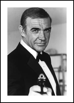 Billede af James Bond 2, 30x40
