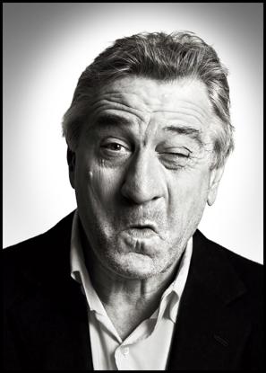 Billede af Robert De Niro, 50x70