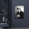 Billede af Karl Lagerfeld, 50x70