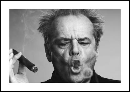 Billede af Jack Nicholson, 70x100