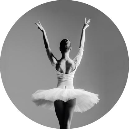 Billede af Circle Art, Ballerina