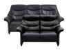 Billede af Asti 3+2 pers sofa Soleda/skai