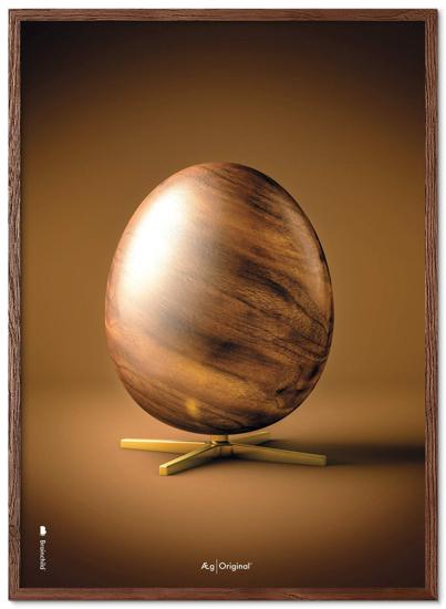 Billede af Brainchild Ægget figur plakat, 50x70
