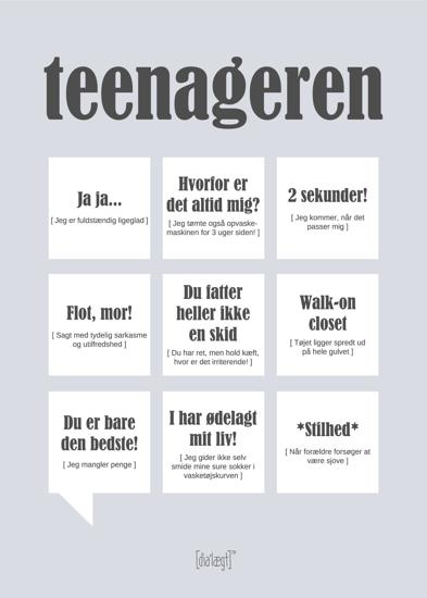 Billede af Teenageren, Kort