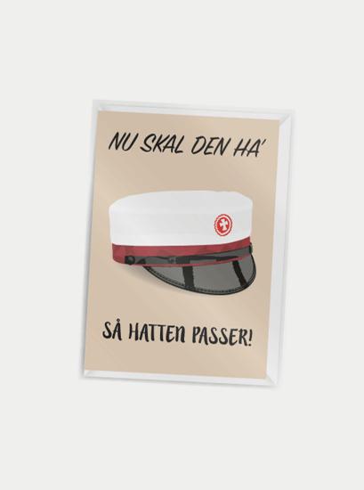 Billede af Nu skal den ha' så hatten passer (rød hue), A7