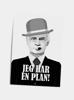 Billede af Jeg har en plan!, A5 kort