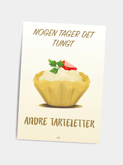 Billede af Tarteletter, A5 Kort