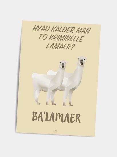 Billede af Balamaer, A5 Kort