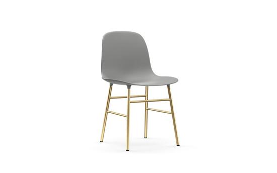Billede af Form stol, messing