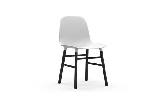 Billede af Form stol, sort eg
