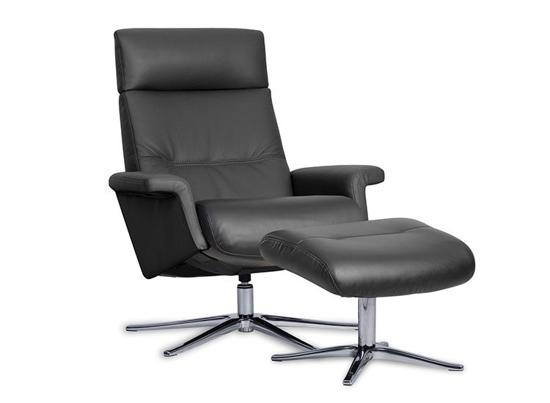Billede af Space 3600 lænestol og fodskammel