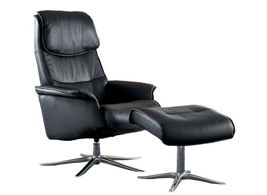 Billede af Space 27.70 lænestol og fodskammel