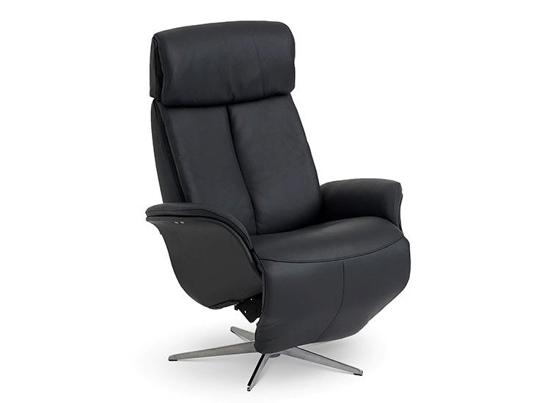 Billede af Global Comfort Ventura medium lænestol med indbygget fodskammel